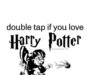 aesthetics, divider, and harry potter image