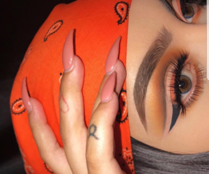 browns, eyeshadow, and goals image