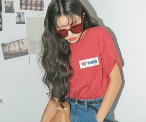 fashion, aesthetic, and red image