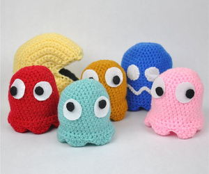 crochet and pac-man image