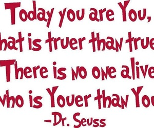 dr seuss, inspire, and quote image