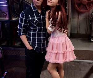 ariana grande, icarly, and nathan kress image