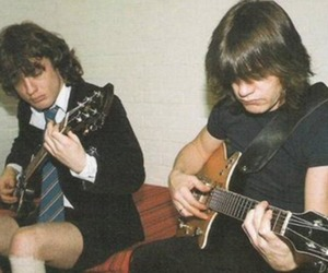 ac dc, angus young, and music image