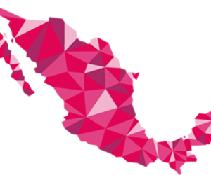 pink and méxico image