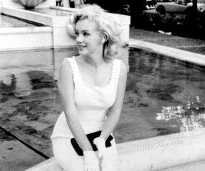 Marilyn Monroe, vintage, and beauty image