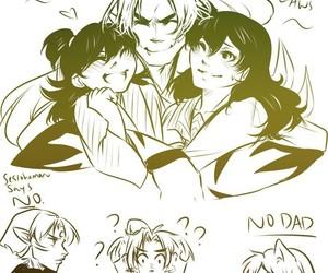 inuyasha, rin, and anime image