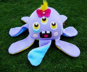 baby, kawaii, and octopus image