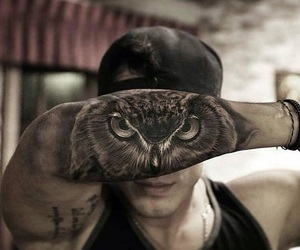 owls and tattoo image