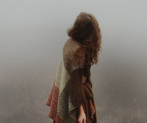 girl, autumn, and vintage image