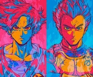 art, handsome, and dragon ball z image