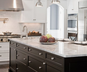granite, kitchen, and granite countertops image