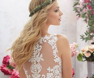 beauty, hairstyles, and wedding image