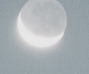 moon, sky, and pastel image