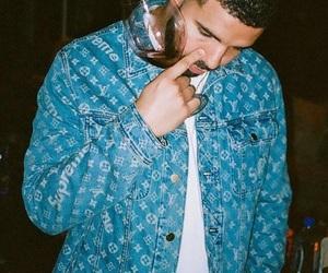 Drake, supreme, and champagnepapi image