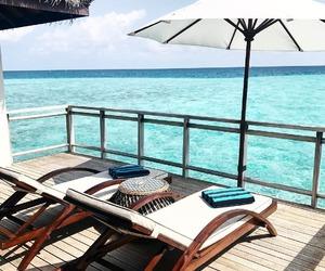 beach, luxury, and paradise image