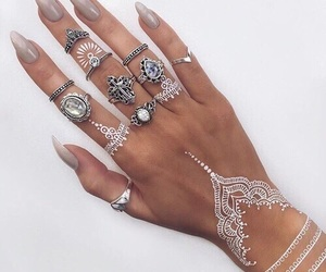 bague, jewerly, and ring image