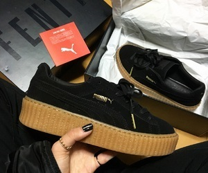 puma, black, and creepers image