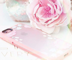 flower, pink, and casetify image