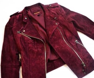 jacket, red, and style image