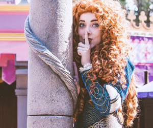 brave, merida, and face characters image