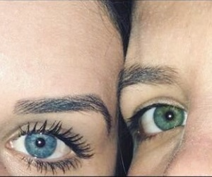 aesthetic, best friend, and eyes image