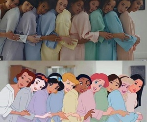 dua lipa, disney, and princess image