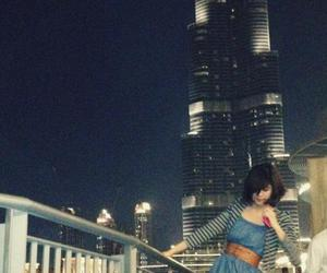 burj, fashion, and night image