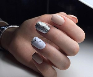 glitter, goals, and nails image
