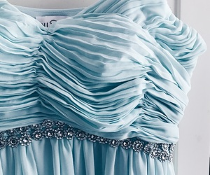 blue dress and Prom image