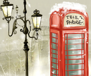 london, telephone, and wallpaper image