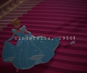 aesthetic, cartoon, and cinderella image
