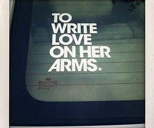to write love on her arms and twloha image