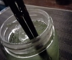 cocktail, fresh, and mint leaves image