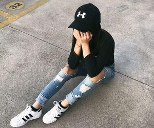 adidas girl tumblr image