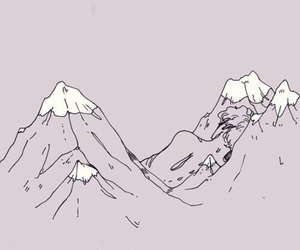 wallpaper, mountains, and tumblr image