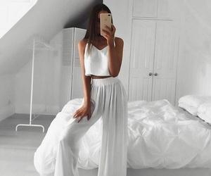 Blanc, girl, and mode image