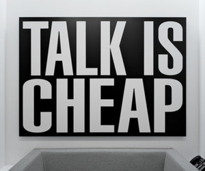 quote, talk, and cheap image