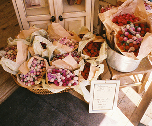 flowers, vintage, and pink image