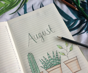 August, holidays, and beach image