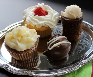 chocolate, cupcakes, and dessert image