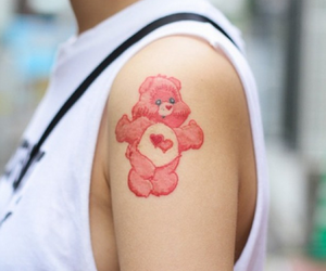 bear, lovely, and pink image