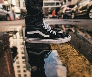 vans and street image