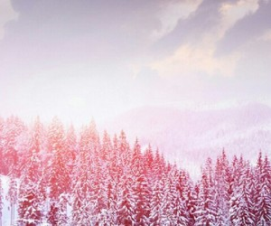 snow, winter, and wallpaper image