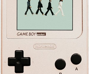 background, beatles, and gameboy image