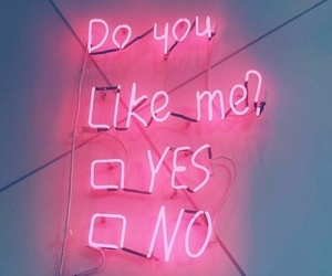 neon, pink, and quote image
