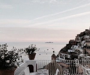 travel, sea, and view image