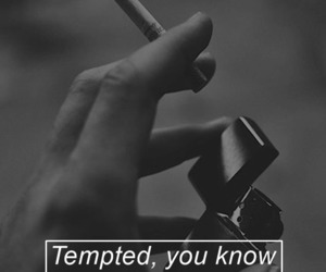 cigarette, hand, and wallpaper image