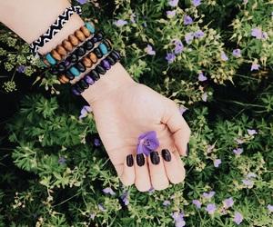 boho, bracelets, and nature image