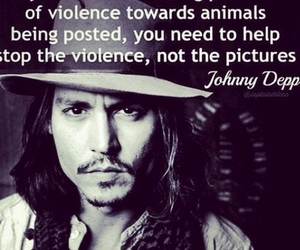 animal, johnny depp, and quote image