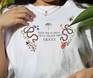 gucci, fashion, and snake image